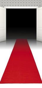 Der rote Teppich ist besonders bei VIP, Hollywood oder Filmstar Mottopartys sehr gefragt